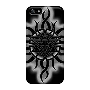 Shock-Absorbing Cell-phone Hard Cover For Iphone 5/5s (PCK16745cGNm) Customized Attractive Godsmack Band Image