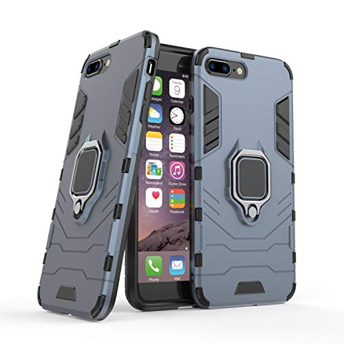 Phone Case for iPhone X XR XS Max 8 7 6 6s Plus 5 5s se Luxury Car Stand Hard Back Cover,Blue,for iPhone 8