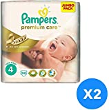 Pampers Premium Care Jumbo Pack Maxi Size 4-96 Pc,Set of 2 7-18 kg