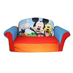 Marshmallow Furniture, Children's 2 in 1 Flip Open Foam...