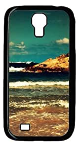 Cool Painting Ocean Waves Polycarbonate Hard Case Cover for Samsung Galaxy S4/I9500