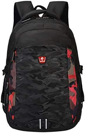 XCVB Schulreiserucksack Unisex Junior High School Schülerrucksack Herrenreisetaschen Reiselaptop mit großer Kapazität, A