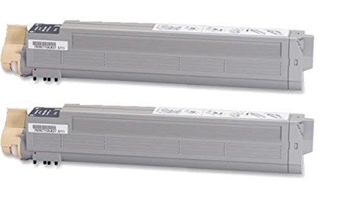 Omage Remanufactured (OKI42869401) 2 Black Toner Cartridge Replacement for C9600 9800 Series Printer. (9800 Series Printer)
