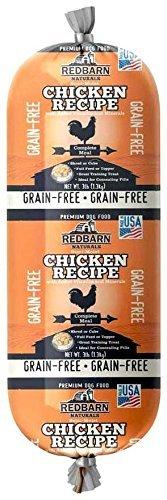 REDBARN NATURALS GrainFree Rolled Dog Food Chicken (3 lbs) by REDBARN NATURALS (Image #1)