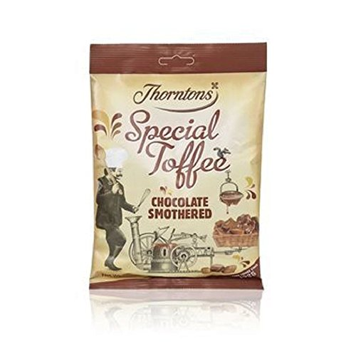 Thorntons Chocolate Smothered Special Toffee Bag (280g) (Pack of 6) by Thorntons (Image #1)