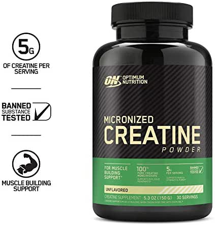 Vitamins & Supplements: Optimum Nutrition Micronized Creatine Powder