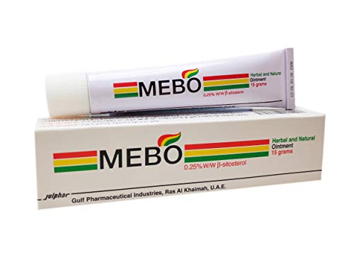 MEBO Burn Fast Relief Pain Cream Skin Healing Ointment Wound & Scar No Marks Care Fast First Aid Health Beauty Care (1 Tube = 15 grams)