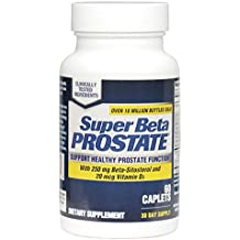 New Vitality Super Beta Prostate Supplement Supports Bladder & Urinary Health - 60 Caplets + E-BOOK! [New 2018 Label] (Pack of 1)