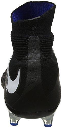 Nike Hypervenom Phantom 3 DF AG-Pro, Scarpe da Calcio Uomo Nero (Black/White-game Royal)