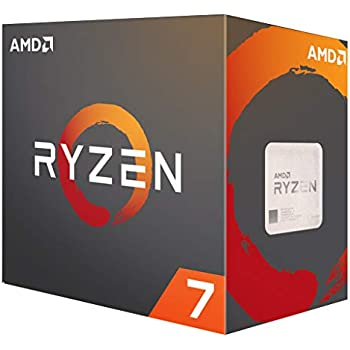 Amazon com: AMD Ryzen 7 1700 Processor with Wraith Spire LED
