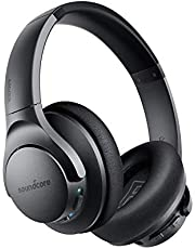 Anker Soundcore Life Q20 Hybrid Active Noise Cancelling Headphones, Wireless Over Ear Headphones with 40H Playtime, Hi-Res Audio, Deep Bass, Memory Foam Ear Cups and Headband