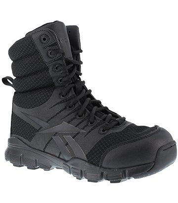 Reebok Men's 8' Dauntless Ultralight Combat Boot Black 9 M