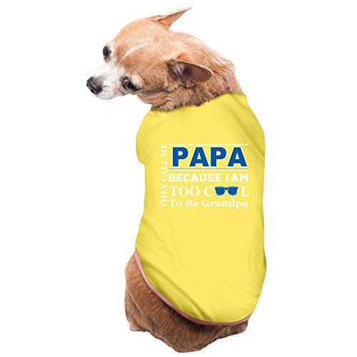 pets-they-call-me-papa-because-too-cool-be-grandpa-t-shirts-yellow