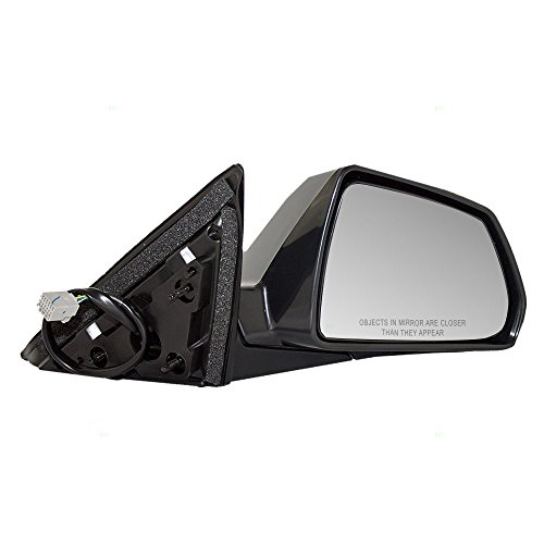 Passengers Power Side View Mirror Heated Smooth Replacement for Cadillac 25828082 AutoAndArt ()