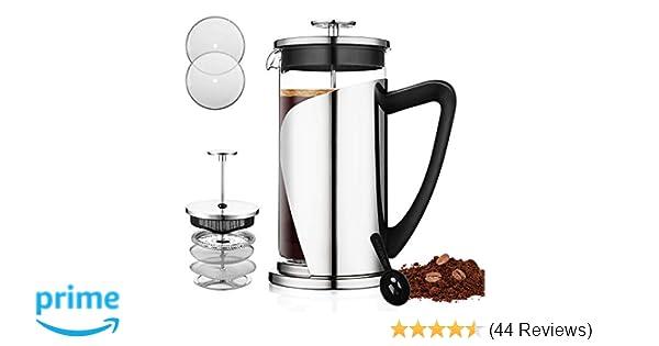 Amazoncom French Press Coffee Maker Bebeke 34oz Coffee And Tea