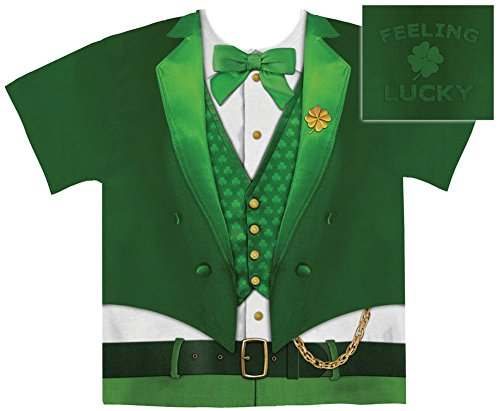 Lucky (Leprechaun Costumes Tshirt)
