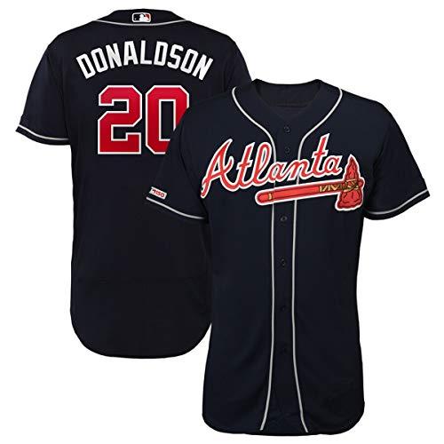 VF LSG Men's Atlanta Braves #20 Josh Donaldson Flex Base Player ()