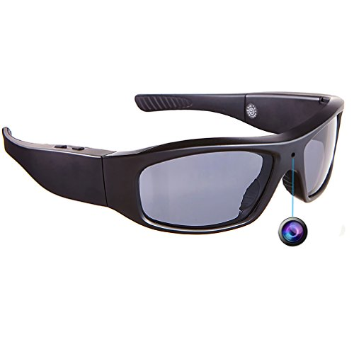 DATONTEN Sunglasses with Camera HD 720P Video Recording Glasses with 8GB SD Card by datonten