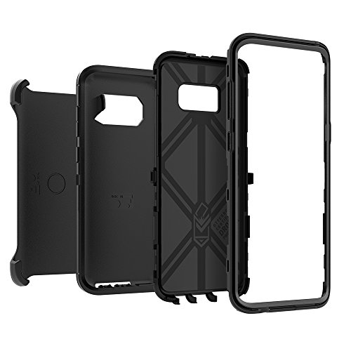 OtterBox DEFENDER SERIES SCREENLESS EDITION for Samsung Galaxy S8+ - Retail Packaging - BLACK by OtterBox (Image #3)