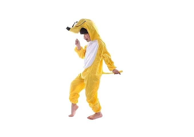 Niños Disfraces de Animales Niños Niñas Unisex Disfraces Cosplay Niños  Onesie (Perro Amarillo c2d316c38830