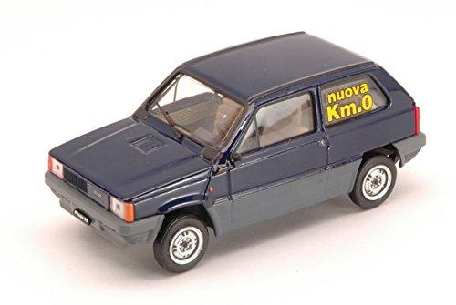 BRUMM BM0386-02K0 FIAT PANDA 30 1980 Km 0 BLU SMALTO 1:43 MODELLINO DIE CAST: Amazon.es: Juguetes y juegos