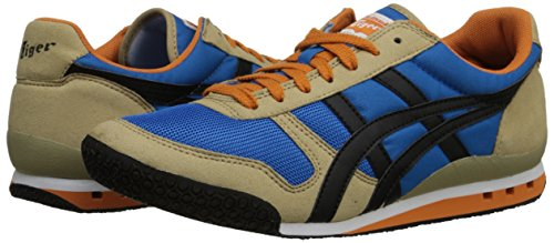 Onitsuka Tiger Ultimate 81 Fashion Sneaker,Mid Blue/Black,12.5 M US/14 Women's M US