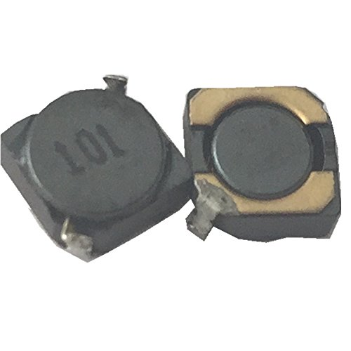50ea 100uH fixed shield inductor surface mount chip power inductor transformer 5X5X2.8mm by Hondark