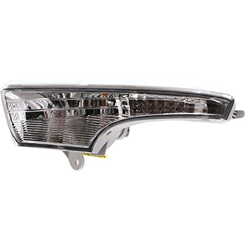 Turn Signal Light compatible with Nissan Altima 13-15 Driver Side LH Assembly Sedan