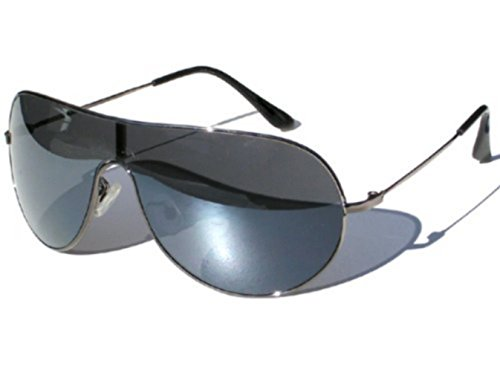 soleil Fbi Monture Mixte UV400 Metal Fashion Standard Norme CE de Gun Lunettes Tendance PURECITY© Metal Aviateur Pilote qXREnT4