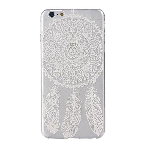 Tongshi para el iPhone 6s 4.7inch Cubierta de la caja plástica de la piel (A) E