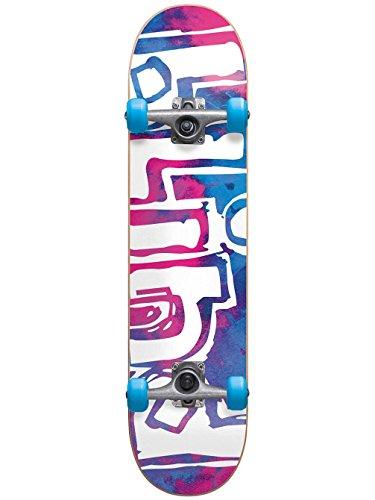 Blind 10511279 OG Water Color Magenta/Cyan Complete Skateboard, Magenta/Cyan, Size (Og Logo Complete Skateboard)