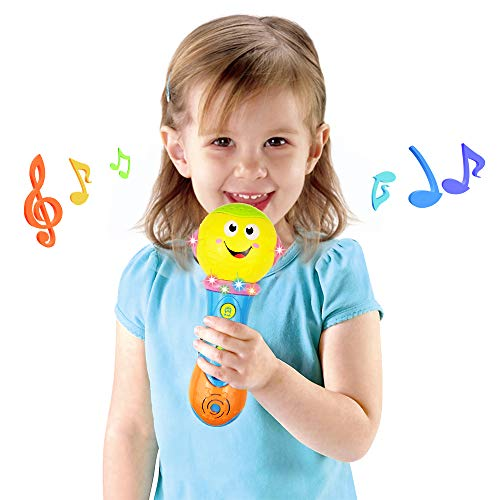 Toy for 6-12 Month Baby Toddler, Toy Microphone for 9-18 Month Girl Boy Toys Gift for 1-3 Year Old Babies Girl Music Toy for 12-24 Month Toddler Boys Birthday Gift Toy Age 1 2 3 by Jeacy (Image #3)