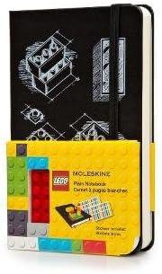 Ruled Scarlet Red 3.5 X 5.5 Moleskine Lego: Notebook II Pocket