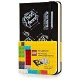 Moleskine Lego Limited Edition Notizbuch, Blanko schwarz, (3.5 X 5.5)