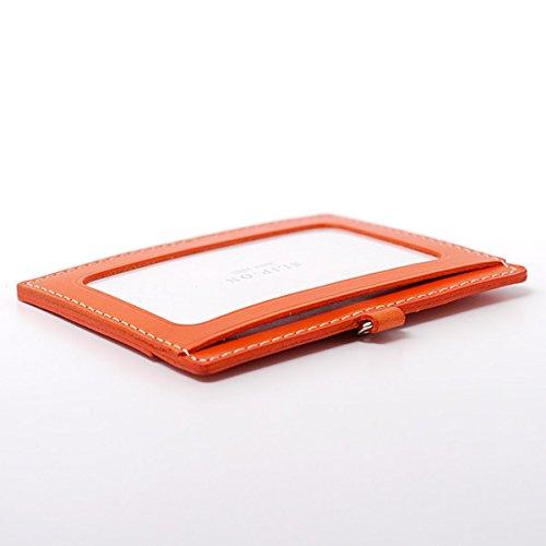 with elastic BT ID Camel leather horizontal SLIP reel ON Italian holder 0xX5x8qp