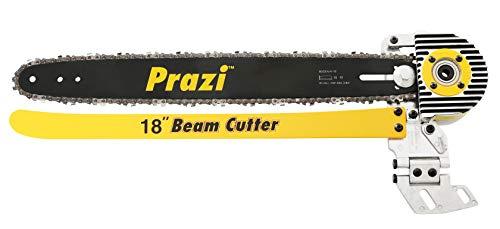 Prazi USA PR-8000 18 Beam Cutter – Circular Saw Blade and Chain Attachment