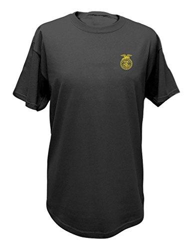 John Deere FFA Grey Short Sleeve T-shirt, X-Large