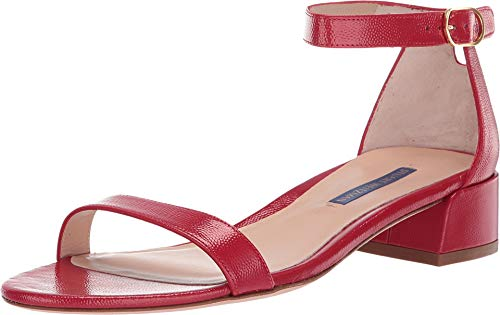Stuart Weitzman Women's Nudistjune Followme Red Caviar Patent 6 M US