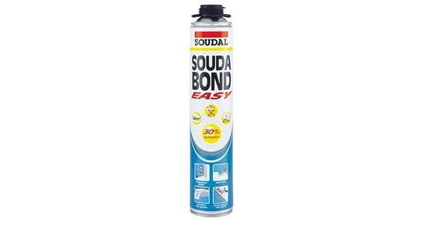 Espuma adhesiva Soudal Souda Bond Easy, contenido: 800 ml: Amazon.es: Bricolaje y herramientas