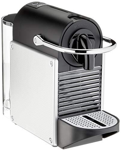 De'Longhi EN 124.S Nespresso Pixie Capsulemachine, 1260 W, 0.7 L, Zilver/Metaal, 11 x 23 x 32 cm