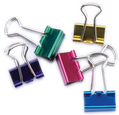 Metallic Binder Clip (Pack of 12)