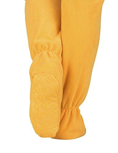 49f948e3a Footed Pajamas - - Creamsicle Adult Hoodie Fleece Onesie - Large ...