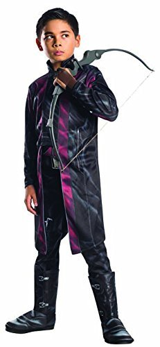Child Deluxe Hawkeye Avengers 2 Costumes (Rubie's Costume Avengers 2 Age of Ultron Child's Deluxe Hawkeye Costume, Large by Rubie's)
