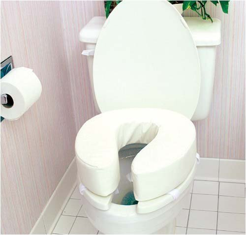 4 Inch Tall Toilet Seat Cushion by Duro-Med Industries (DMI) by Duro-Med Industries (DMI)