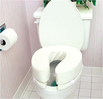 Astonishing Amazon Com 4 Inch Tall Toilet Seat Cushion By Duro Med Camellatalisay Diy Chair Ideas Camellatalisaycom