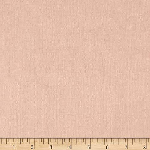 Robert Kaufman Kaufman Essex Linen Blend Rose Fabric by The Yard,