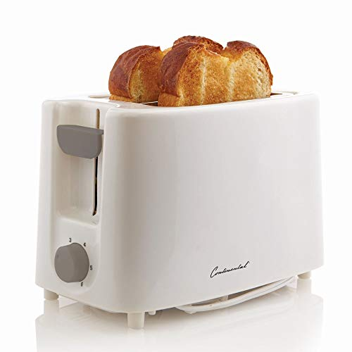 Continental Electric CE-TT011 Electric Toaster, 2 Slice,, used for sale  Delivered anywhere in USA