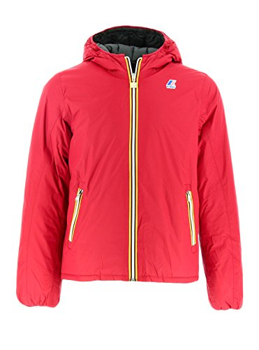 Kway JACQUES THERMO PLUS DOUBLE927 RED SCARLET Piumino reversibile Rosso M Man