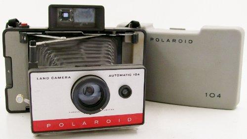 Polaroid 104 Instant Pack Film Land Camera