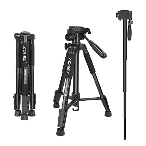 ZOMEi Travel Tripod 2-in-1 Aluminum Alloy Camera